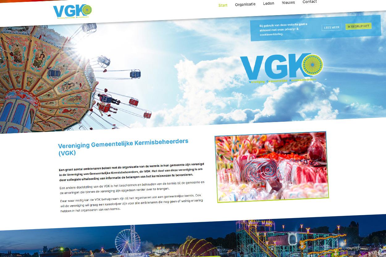 Nieuwe website VGK